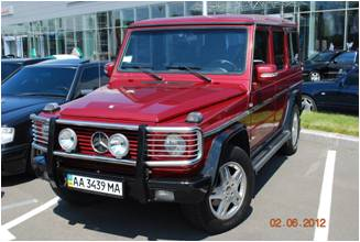 W463 RED