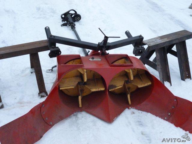 Снегоуборочный агрегат своими руками 95